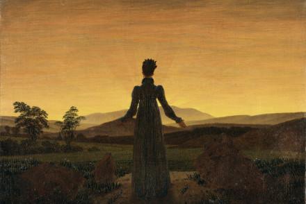 Caspar David Friedrich: Frau in der Morgensonne G45